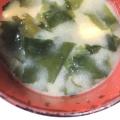 玉ねぎとわかめの味噌汁++