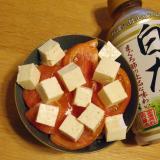 夏にピッタリ☆トマトとお豆腐の丼