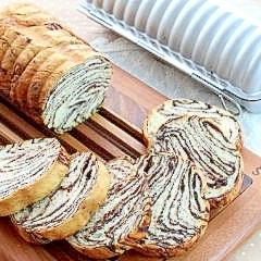 チョコマーブルラウンド食パン【No.267】