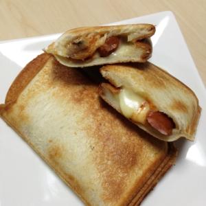 ホットサンド〜ウインナー・チーズ〜