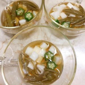 じゅんさいと長芋の冷やし小鉢★すし酢でまろやか〜5