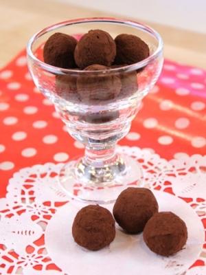 【ママパン】簡単トリュフ・チョコレート