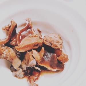 栄養たっぷり!砂肝+ハツ+レバーのソース煮