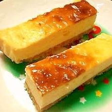 ホワイトチョコチーズケーキ:)