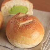 道産小麦粉と枝豆で作る ずんだあんパン