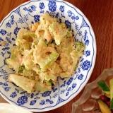 ブロッコリーとジャガイモの明太子サラダ
