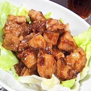美味しいぃ~!!鶏のマヨ炒め♪