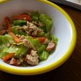 離乳食完了期 ツナと豆腐の野菜炒め めんつゆ風味