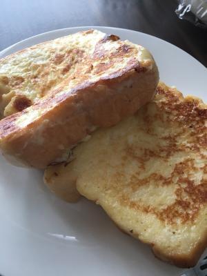 冷凍食パンでフレンチトースト