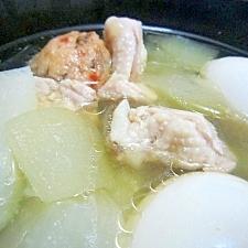 お手軽和食◎とうがんと鶏の煮物