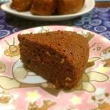 ノンオイルで麩わ麩わ炊飯器でお麩チョコレートケーキ