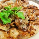 豚肉生姜塩麹焼き
