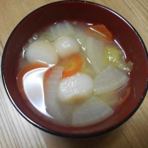 野菜たっぷりで美味しくいただけるお味噌汁