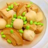 冷凍里芋と麩の煮物