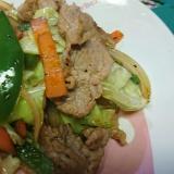 簡単野菜炒め(お弁当用)