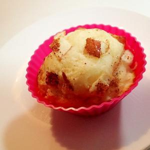 林檎のミルキーシナモンカップケーキ