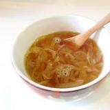 フライパンでオニオンスープ