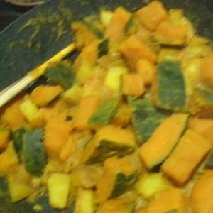 かぼちゃとジャガイモの柚子胡椒煮