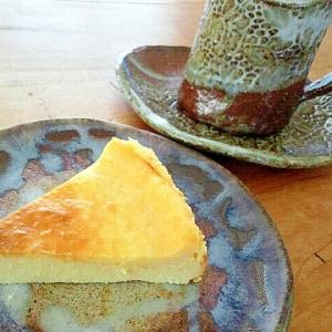 さわやかプレーンヨーグルト入りベイクドチーズケーキ