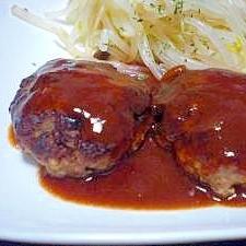 冷めてもジューシー☆柔らか豆腐ハンバーグ