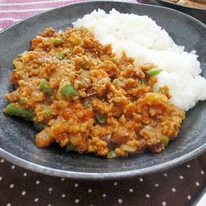 高野豆腐でドライカレー