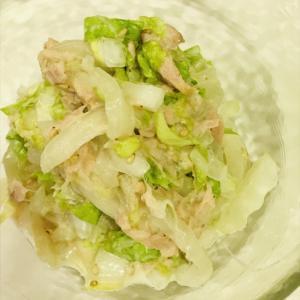 白菜のツナサラダ