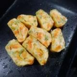 幼児食やキャラ弁に★野菜入り★卵1個で優しい卵焼き