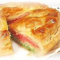 ひな祭りカラーのパイ