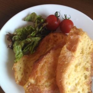 フランスパンの豆乳フレンチトースト