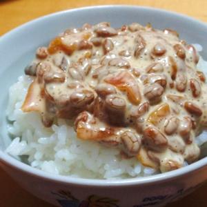 福神漬けが残ったら☆美味しい納豆マヨ和え☆
