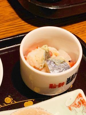 日本酒がすすむ、〆鰆の紅白なます