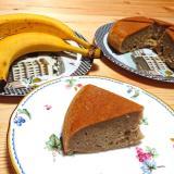 炊飯器で!混ぜるだけ簡単バナナケーキ
