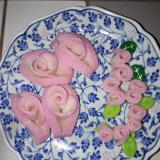 お弁当おかず かわいい かまぼこローズ バラ