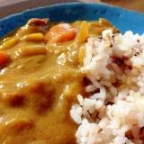 栄養たっぷり♪「雑穀米カレー♪」
