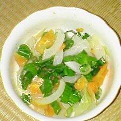 塩麹で 温野菜サラダ♪
