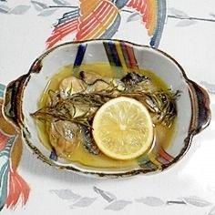 牡蠣のローズマリー焼き