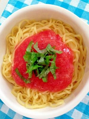 冷やし中華★すりおろしトマト