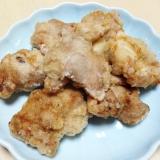 鶏もも肉のジューシー塩唐揚げ