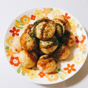 無添加 ♬ 野菜たっぷりタコ焼き