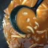 柔らか牛肉のハッシュドビーフ