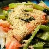 ★簡単☆小松菜とカニカマのおひたし★
