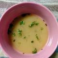 玉ねぎとあげのお味噌汁