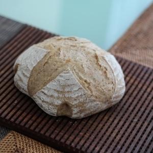 小麦ふすま入りのカンパーニュ