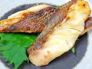京都老舗の味♪ 自家製「真鯛の西京漬け」