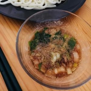 ポン酢ベースの自家製麺つゆ