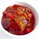 プチトマトのビーフシチュー