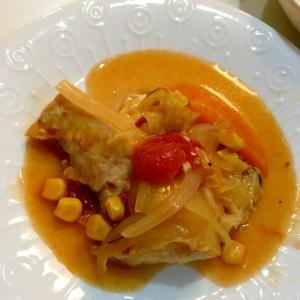 メカジキのトマトコンソメ煮