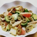 ローストサラダチキンと野菜のサウザンサラダ