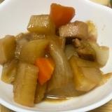 鶏肉と大根と人参と玉ねぎの筑前煮