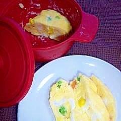 1個で卵焼き☆お弁当に★tukuru×電子レンジ